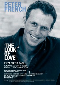 THE LOOK OF LOVE   FLYER